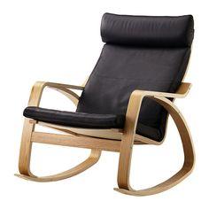 POÄNG Gyngestol IKEA Stellet er fremstillet af formspændt og lamellimet birk, som er et meget stærkt og holdbart materiale.