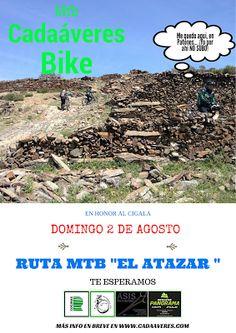 """Mtb Cadaáveres - Bike : Ruta Mtb """"El Atazar"""""""