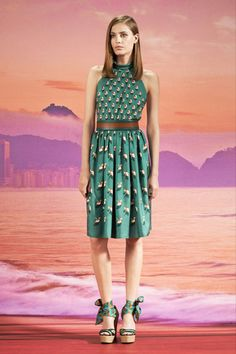 Tropical Trend at Gucci Resort 2014 - Resort Fashion Trends 2014 - Harper's BAZAAR