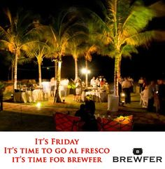 Friday evening in a restaurant garden is something every free soul enjoys. Free yourself from all the shackles and enjoy your meal in the open. For the perfect place and plenty of offers, Brewfer is there for you. #Food #OffrsOnFood Web: http://goo.gl/2zzgI4 Android App: https://goo.gl/Vqt616 IOS App: https://goo.gl/ZC26rp