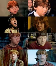 Rupert did such an awesome job of bringing Ron to life.
