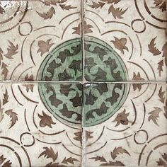 The La Terre Collection features Moorish inspired, hand-stenciled terra cotta tiles that evoke an old world look while maintaining a contemporary and versatile feel