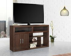 Muebles Home, Muebles Living, Tv Stand And Entertainment Center, Entertainment Room, Wooden Furniture, Home Furniture, Furniture Design, Minimal Bedroom Design, Rack Tv