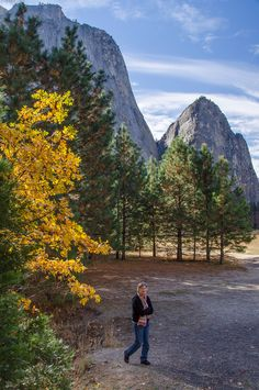 Yosemite Valley in the Fall: Have the trails to yourself!