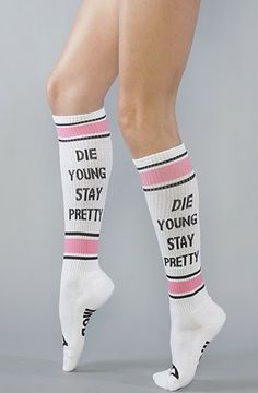 An encouraging message for today's youth: Sock Fashion 2014