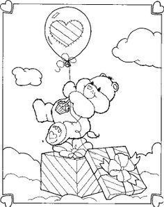evil cear bears coloring pages - photo#6