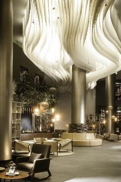 Get the best luxurious lighting inspirations for your new hotel interior design project. Check more at www.luxxu.net   #tablelamp #lighting #design #contemporary
