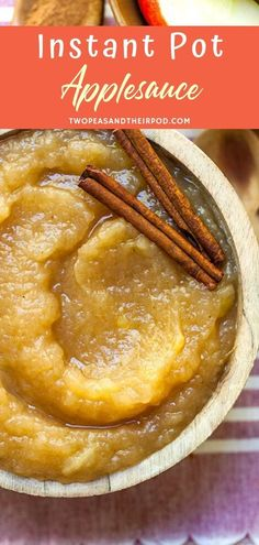 Instant Pot Applesauce is the easiest, fastest way to get homemade applesauce! You can make it as smooth or chunky as you want and the flavors are amazing. Easy Homemade Recipes, Fun Easy Recipes, Snack Recipes, Cooking Recipes, Homemade Crackers, Homemade Applesauce, Pressure Cooker Recipes, Pressure Cooking, Kid Friendly Meals