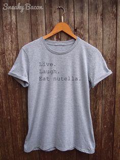 Nutella Shirt Womens tumblr nutella tshirt funny food