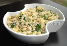 Couscous Salad - corn. kidney beans, walnuts
