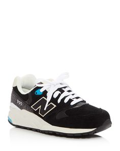 New Balance 999 Elite Edition Lace Up Sneakers