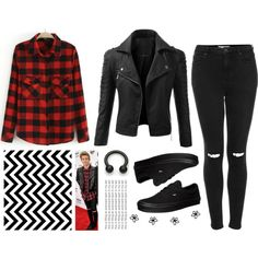 luke+hemmings+inspired+outfits+for+girls | fashion look from May 2014 featuring Doublju jackets, Topshop jeans ...