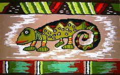 The colourful chameleon