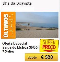 Boavista - Especial ( Últimos Lugares ) €580