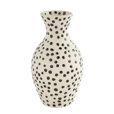 Look at what you've spotted! Our hand-molded earthenware vase features a simple yet fun pattern of dots. A Pier 1 exclusive. Table Runner And Placemats, Gold Vases, Find Furniture, Pier 1 Imports, Inspired Homes, Cool Patterns, Earthenware, Dots, Texture