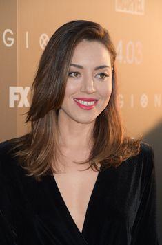 Aubrey Plaza Medium Layered Cut - Aubrey Plaza wore her hair in a stylish layered cut at the premiere of 'Legion' season 2.