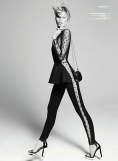 In the Game | Cato van Ee by Alique for Jackie January 2012 - NOIR FAÇADE - The place for fashion editorials.