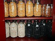 Oven canning can preserve dry goods for 20-3- years! soooo want to do this!-MB