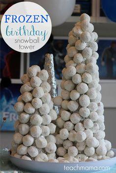 how to throw a rockstar #frozen birthday party—snacks!  | teachmama.com | Disney's Frozen #disneysmmoms #disneyside