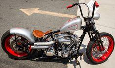 Choppers n Bobbers on Motorbikes - DeviantArt Harley Davidson Images, Harley Davidson Chopper, Harley Davidson Motorcycles, Custom Bobber, Custom Harleys, Vintage Motorcycles, Custom Motorcycles, Custom Choppers, Custom Bikes