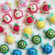 Cute fruit charms