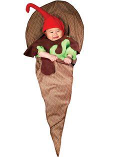Baby Sundae costume (too cute!) #Halloween