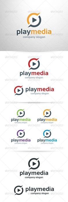 Buy Play Media Logo Template by LiveAtTheBBQ on GraphicRiver. The Play Media Logo Template A professional logo design for many kinds of business. All elements are fully vector and. Circle Logo Design, Circle Logos, Company Slogans, Company Logo, Red Play, Business Software, Music Logo, Abstract Logo, Professional Logo Design