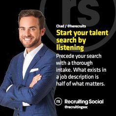 2015 #recruitment tip from @HeRecruits #rsTips #listen