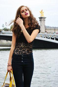 lace + jeans