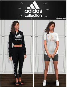 Sport collection part 1 at Elliesimple • Sims 4 Updates