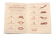 "A Wedding invitation that takes ""tying the knot"" to the next level"