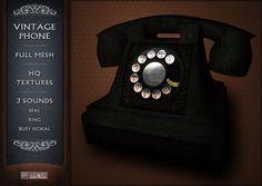 Vintage Phone Mesh