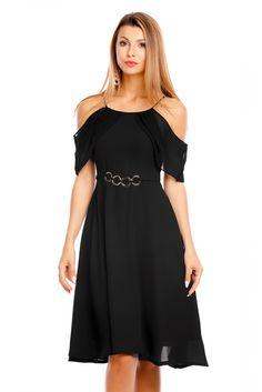 Svart kjole Marta