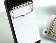 for you diehard paper fans. The Binder iPhone case.