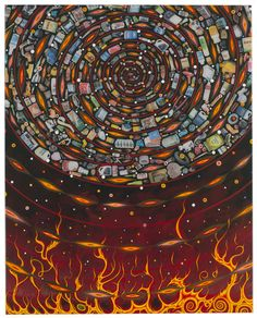 Fred Tomaselli - Artists - James Cohan Gallery