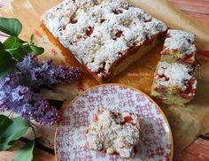 Ciasto Jogurtowe z Truskawkami Pod Kruszonką. Feta, Bread, Cheese, Cook, Recipes, Food Recipes, Rezepte, Breads, Recipe