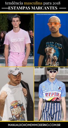 16 melhores imagens de moda masculina 2018   Guy style, Male style e ... 998bca2dff