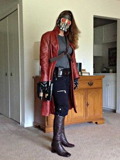 (Mostly) completed Star Lord Halloween costume. I … OP delivers! (Mostly) completed Star Lord Halloween costume. Star Lord Halloween Costume, Halloween Cosplay, Halloween Outfits, Women Halloween, Female Halloween Costumes, Halloween Halloween, Halloween Makeup, Amazing Cosplay, Best Cosplay