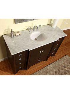 """55"""" Galos Double Sink Vanity"""
