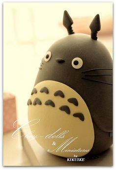 Totoro Mei cake | Flickriver: charles fukuyama's photos tagged with totoro