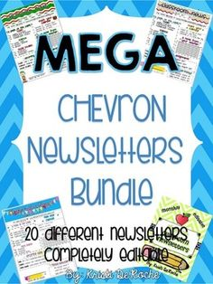 MEGA Chevron Newsletter Bundle