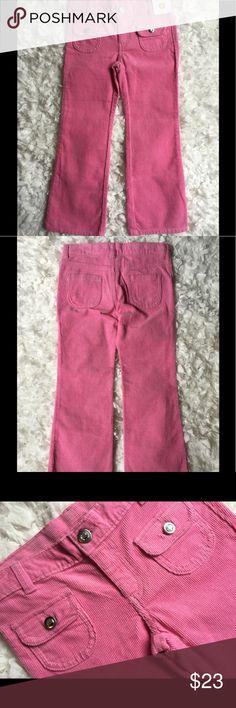 NWT Gymboree girls pants Fine corduroy. Cute jeweled buttons. Adjustable. Gymboree Bottoms