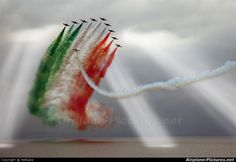 Italy - Air Force : Frecce Tricolori - aircraft at Off Airport photo