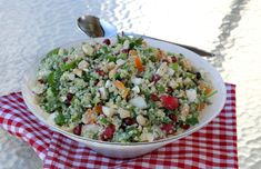 Pesto, Cobb Salad, Quinoa, Grains, Rice, Smoothie, Red Peppers, Smoothies, Shake