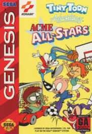 Tiny Toon Adventures: Acme All-Stars [Sega Genesis Game]