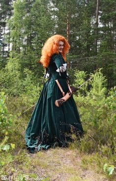 Merida Brave Cosplay Archery Disneyprincess