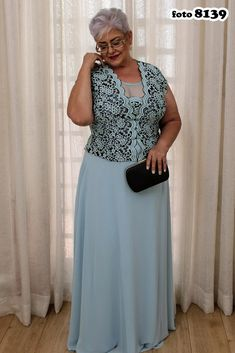 Square Neckline Mesh Inset Powder Blue Mother of the Bride Dress with Lace Top · Sugerdress · Online Store Powered by Storenvy Mother Of Groom Dresses, Mothers Dresses, Mother Of The Bride, Classy Evening Gowns, Evening Dresses, Best Formal Dresses, Short Dresses, Dress Formal, Tulle Ball Gown