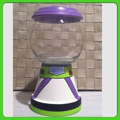 Buzz Lightyear Inspired Candy Jar by GCraftyHands on Etsy