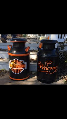 Harley Davidson and Welcome