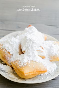 Ever since our trip to New Orleans, I've been dreaming about the deep fried, fluffy, piled-high-with-sugar beignets recipe at the legendary Café Du Monde. The historical French Market has been serving up the delicious French-style beignets and coffee since 1862. Traditional New Orleans Beignets are the only food they serve, so they definitely do it...read more